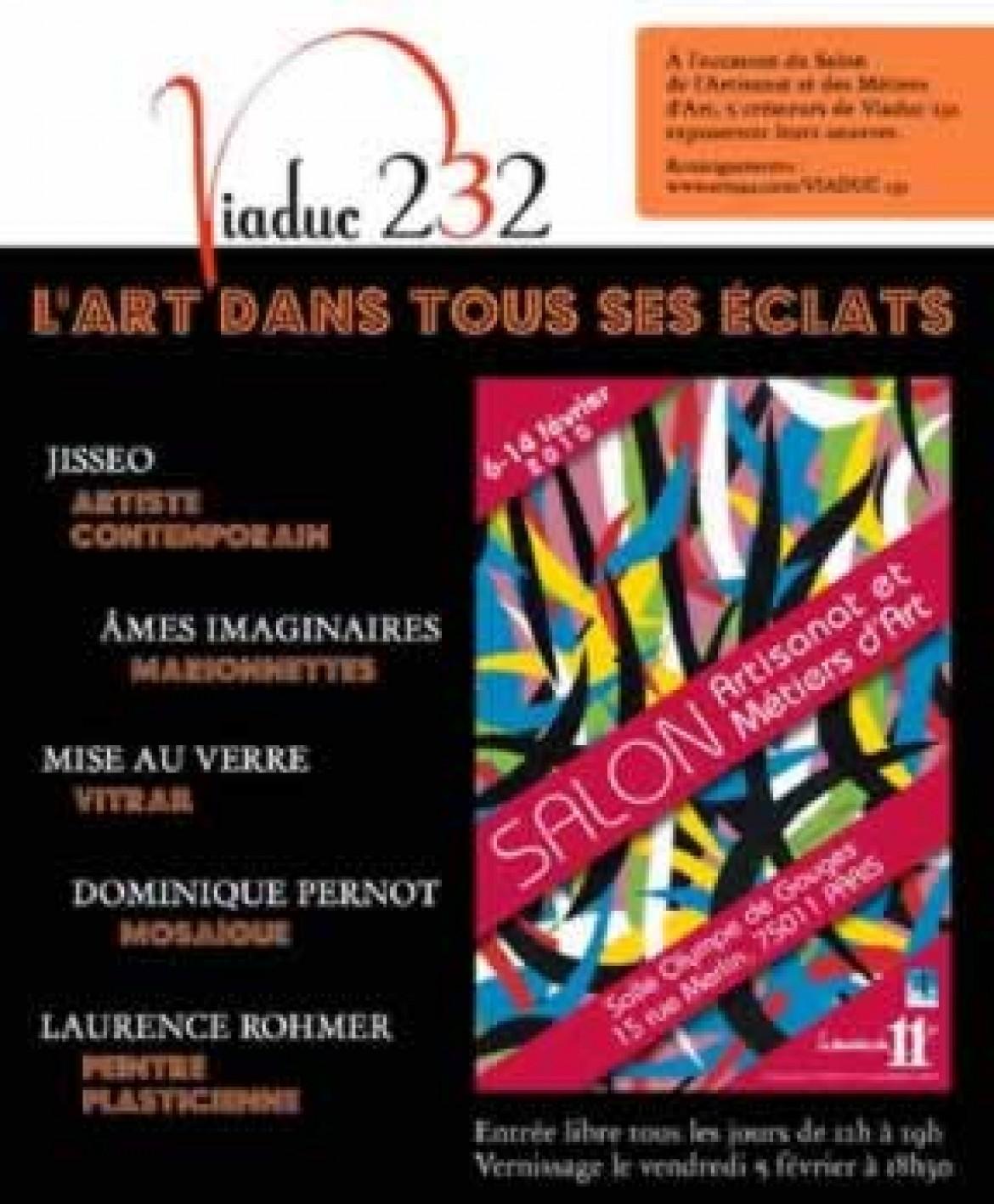 2010-02 Salon des métiers d art à Paris 11ème