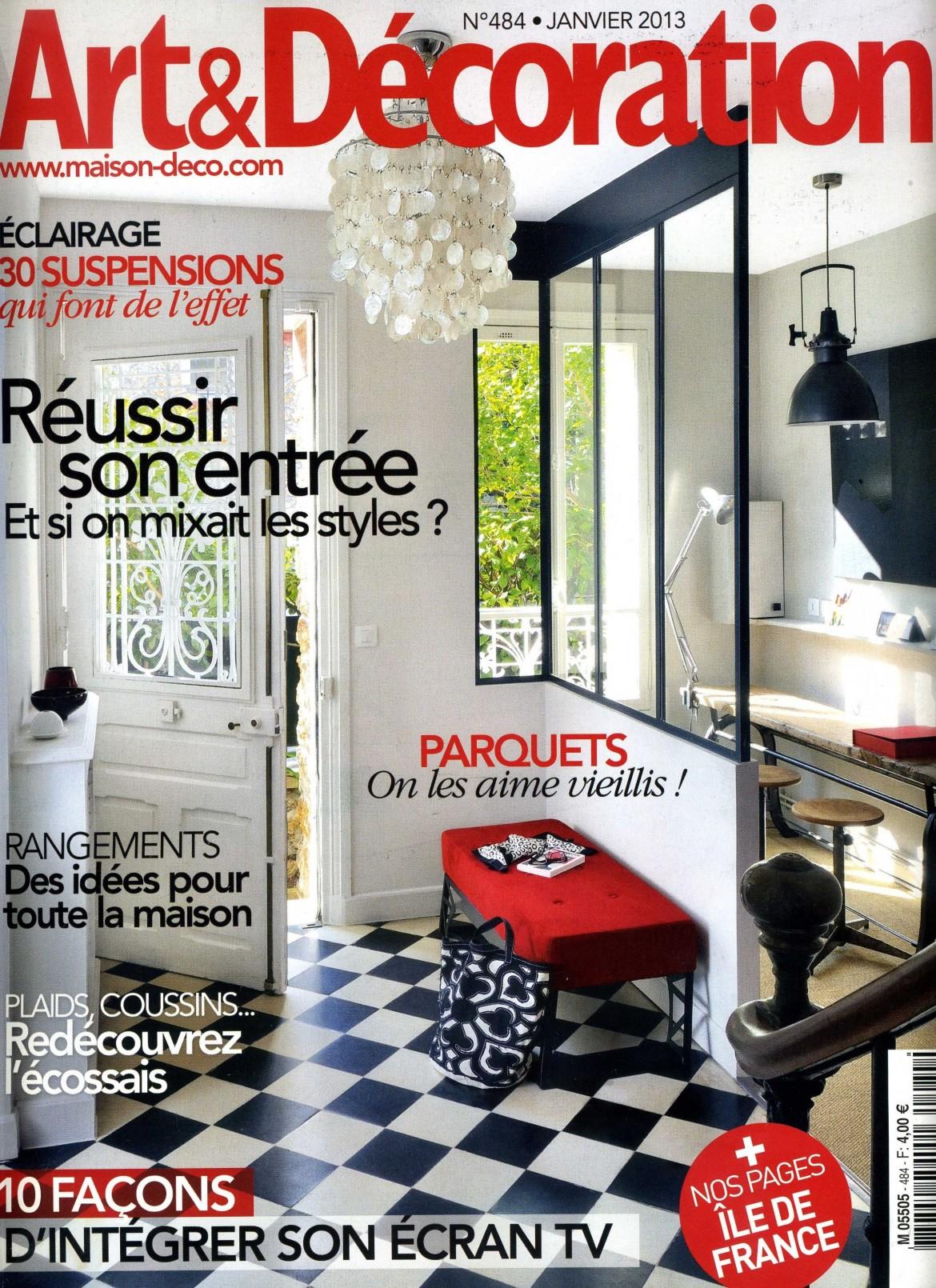 2013-01 Mise au Verre dans Art & Decoration
