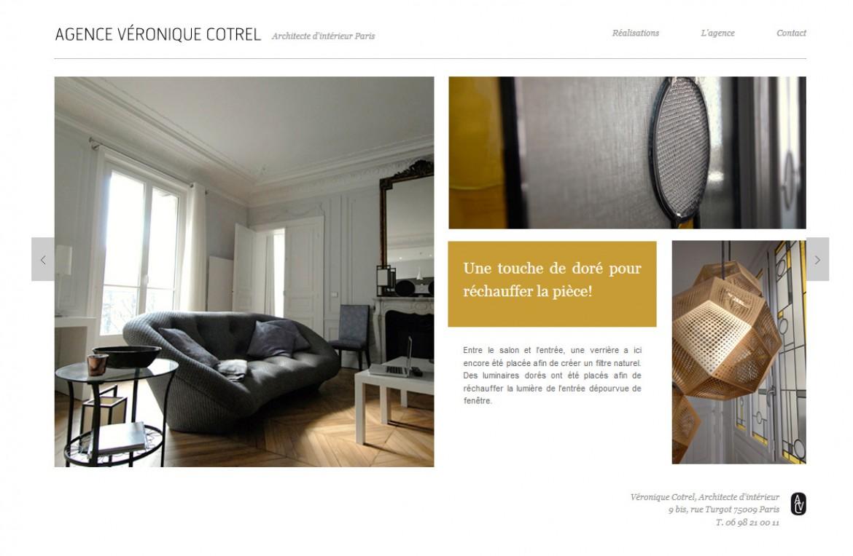 2014-06 Un vitrail pour l agence Véronique Cotrel