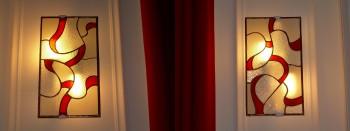 Appliques vitrail