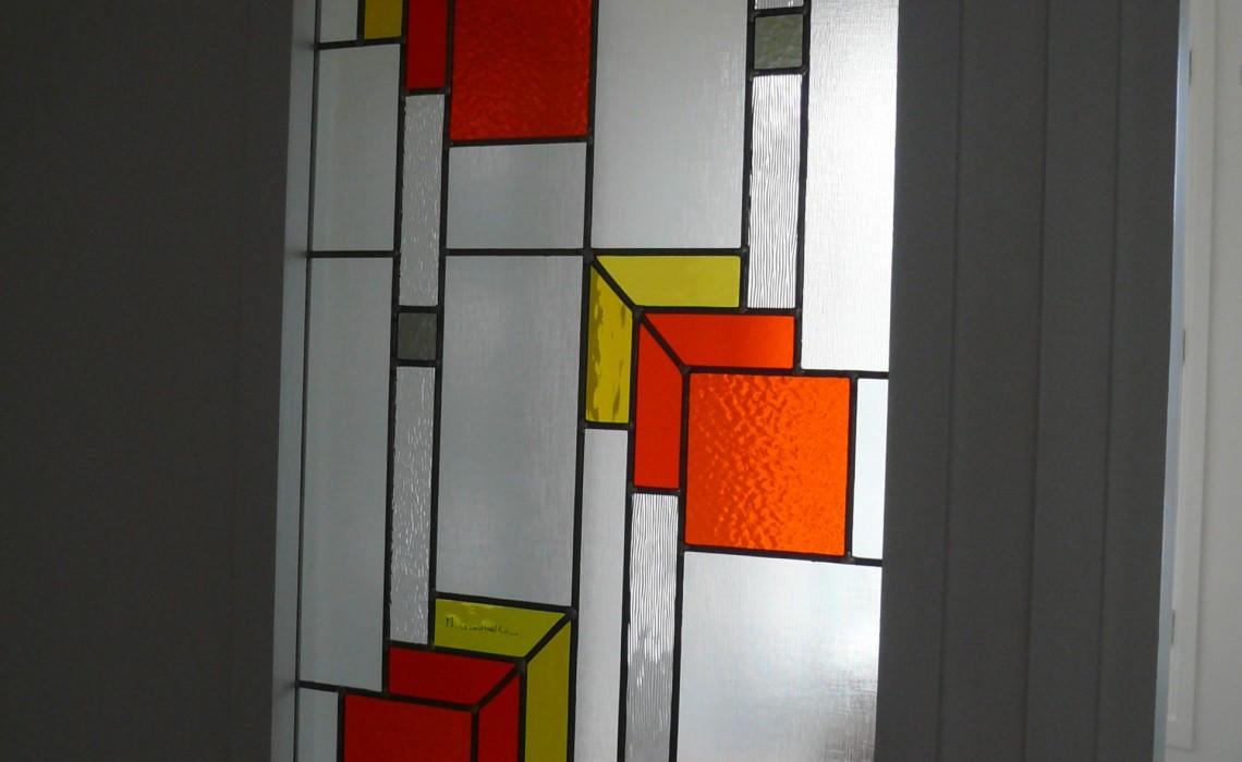 Création de vitraux contemporains