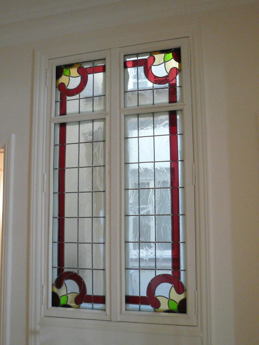 Création vitrail classique