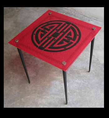 Table chinoise fusing