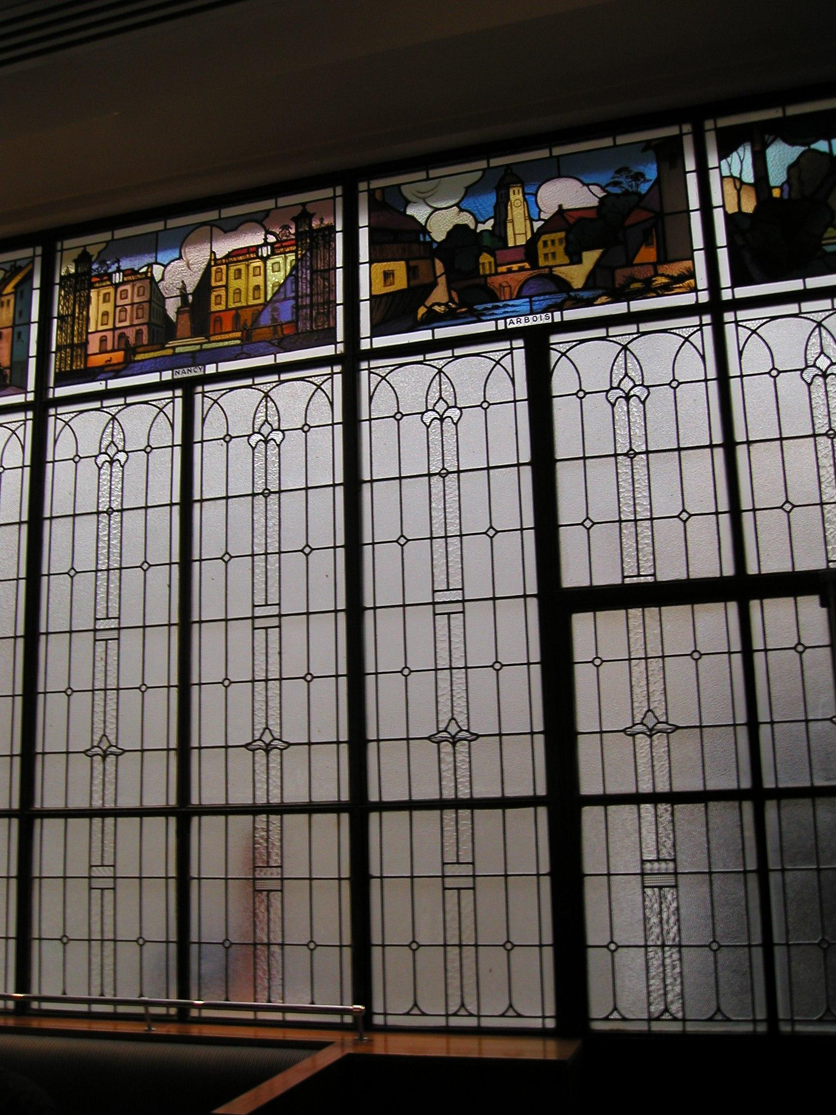 Restauration vitrail classique