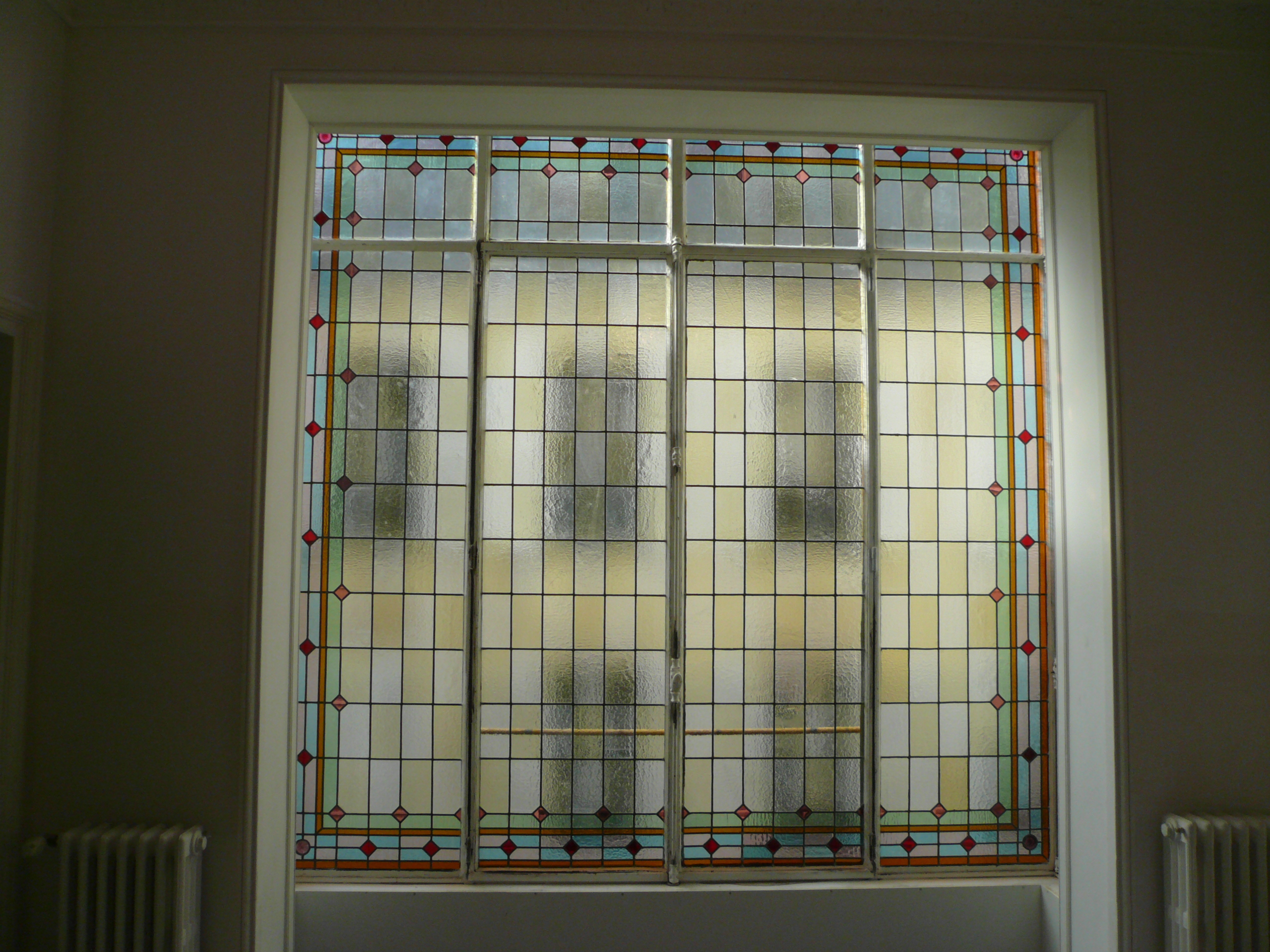 Restauration verrière vitrail